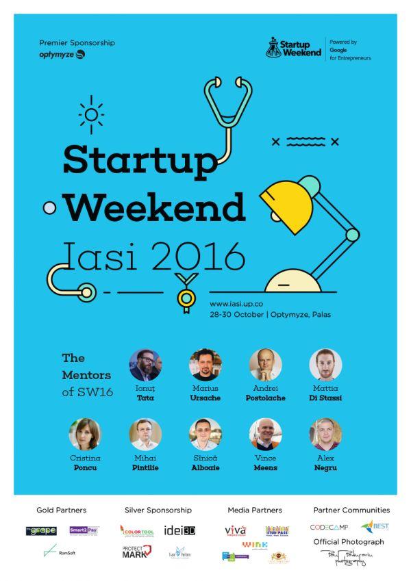 Premii de mii de euro și speakeri de top la cea de-a patra ediție a Startup Weekend Iași