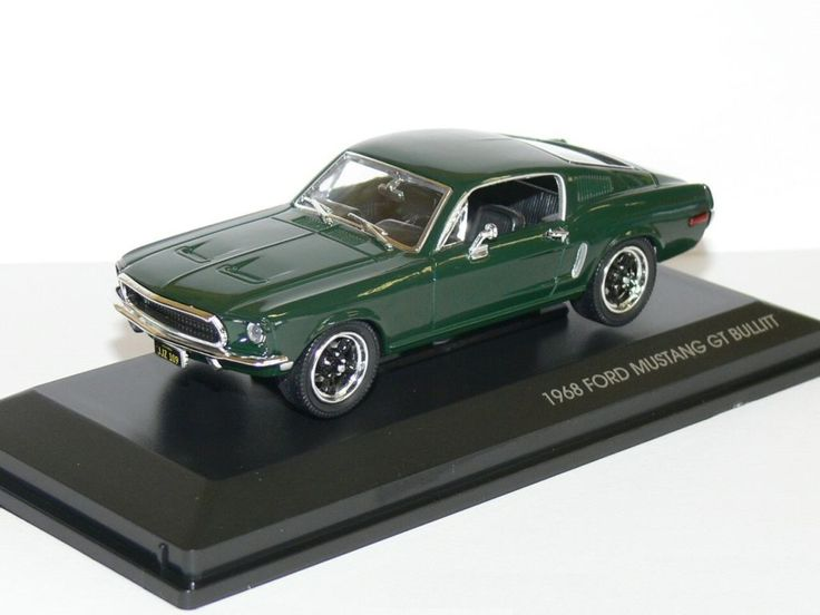 1 43 Bullitt 1968 Ford Mustang Mustang Ford Mustang And