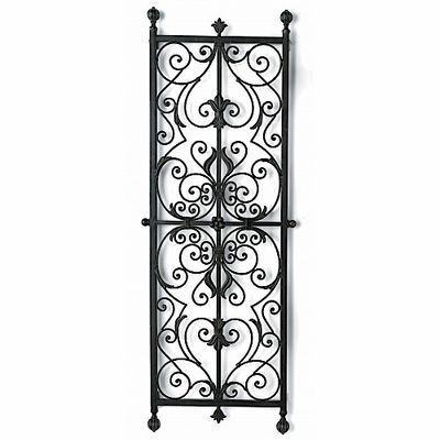 Bring Old World Grace And Elegance To Any Wall In Your Home With This  Stunning, Spanish Inspired Wall Grill, Masterfully Crafted From Durable Wrought  Iron!
