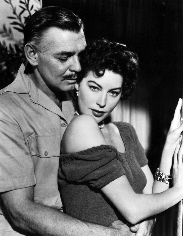 Mogambo, directed by John Ford, starring Clark Gable and Ava Gardner, 1953