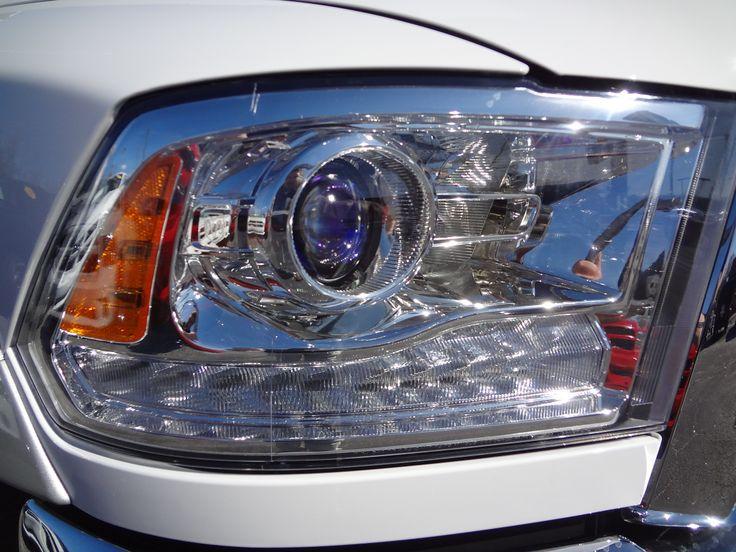 2014 Ram Projector Headlight With Led Car Stuff Pinterest