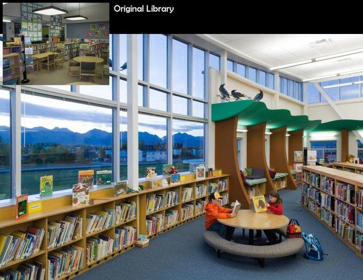 Elementary School Library Design Ideas Innovative