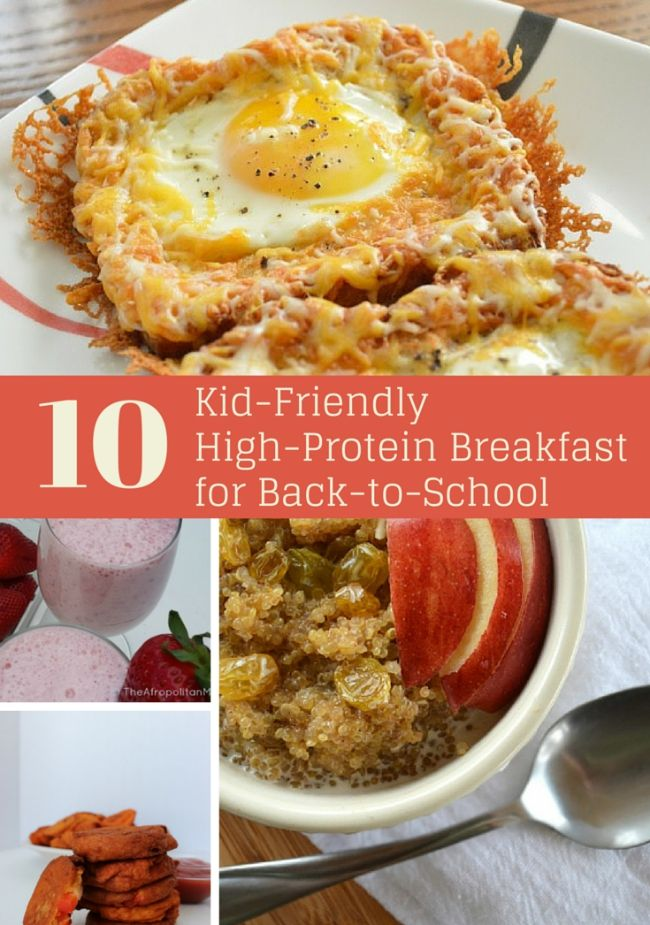 If you're looking for easy Kid-Friendly High-Protein Breakfast for back to school, we've 10 plus highly desired protein packed recipes perfect for those AM