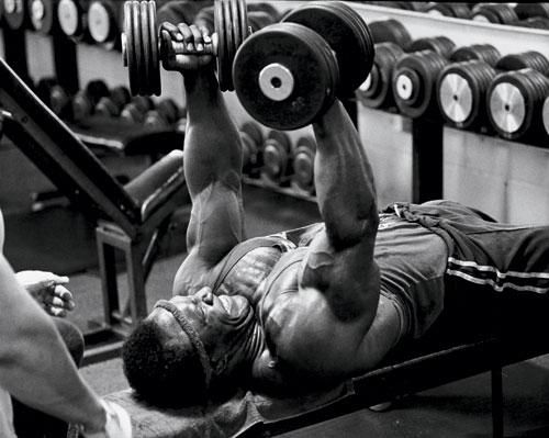 Lee Haney's Workout Routine