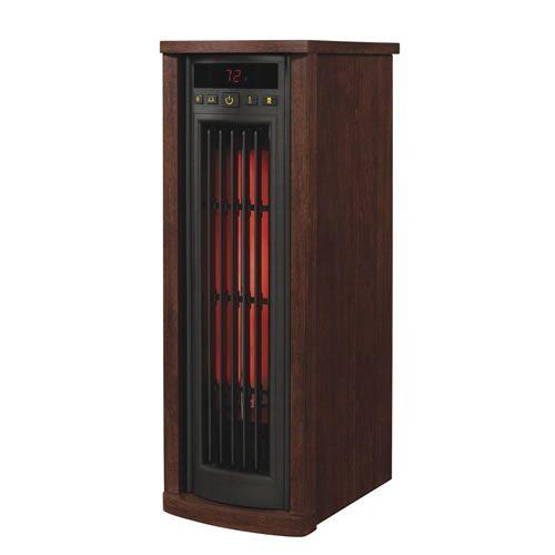 Duraflame Tower Infrared Tower Heater - Cherry Finish