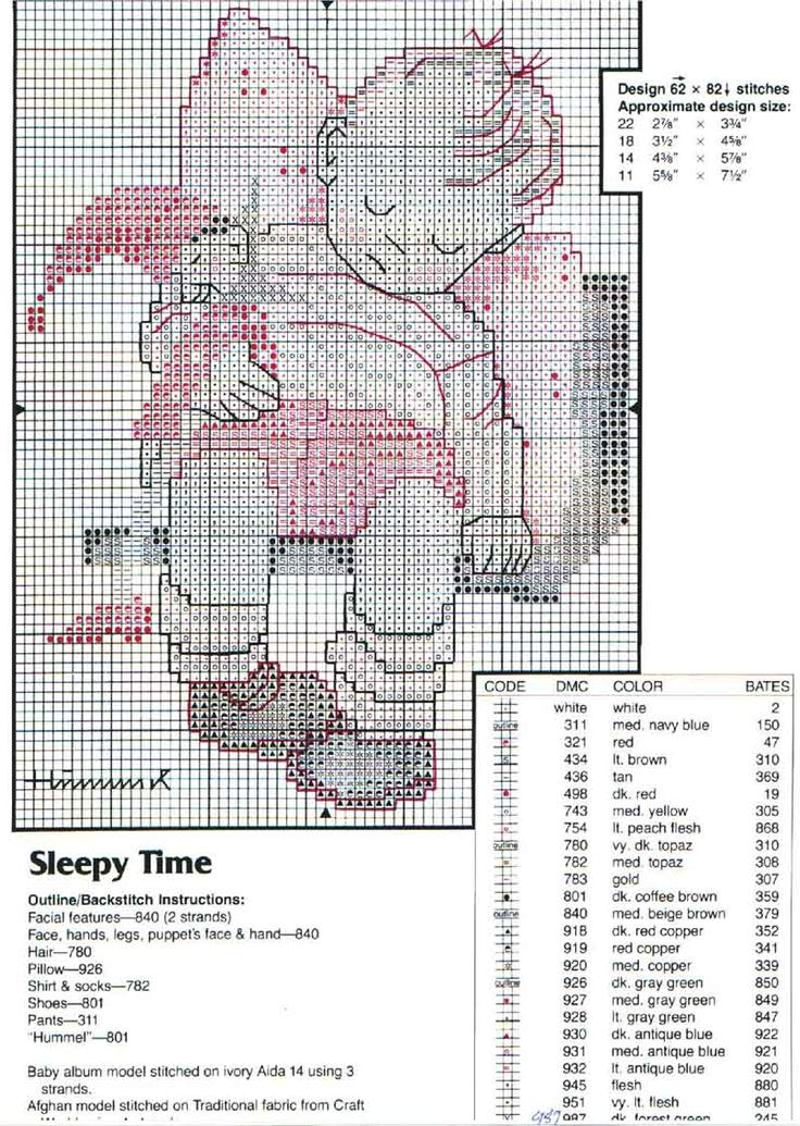 Hummel Sleepy Time patroon 2