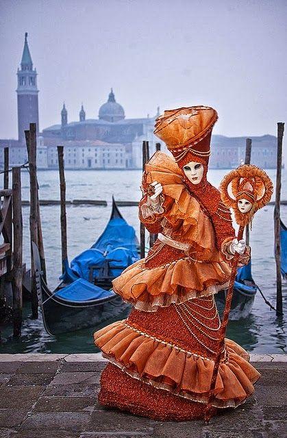 Carnival in Venice, Veneto, Italia.