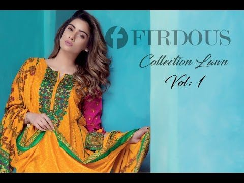 Firdous Collection Lawn 2017 VOL-1 With Prices
