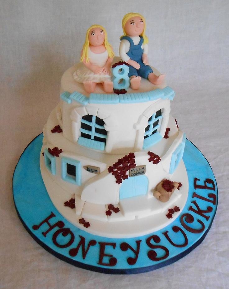 Mamma Mia birthday cake