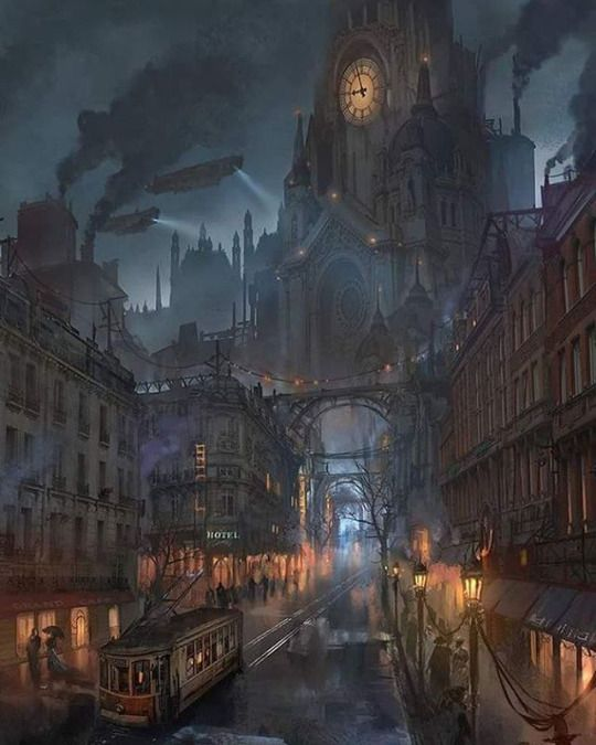 The setting of gothic horror changed from the countryside to the big cities.