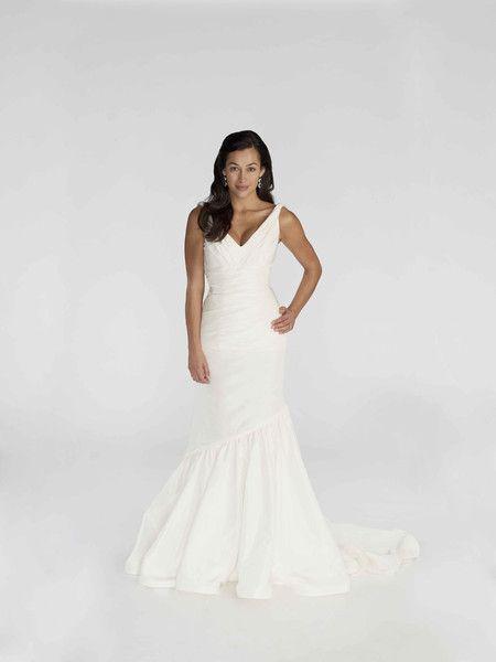 New Kirstie Kelly Wedding Dress Taffeta Fit u Flare wedding bridal gown