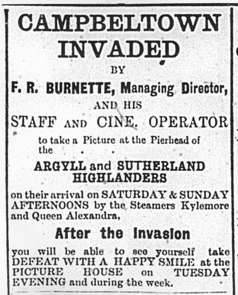 Early Cinema in Scotland 1896-1927