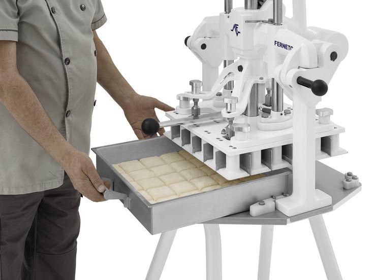 Divisora manual cuadrada, Divisora de masa, divisora de pan, divisora de panadería, DMQ, Ferneto, máquina panadería