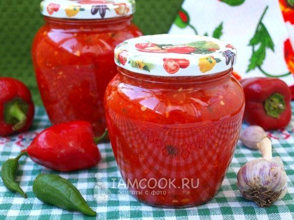 Рецепт сырой аджики из красного перца