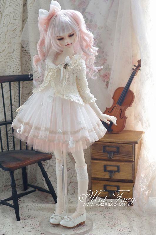 bjd-finds: (via AMORS Tailor BJD doll clothes dress 1/34 point size doll clothes [Mist Fairy] pre - Taobao)