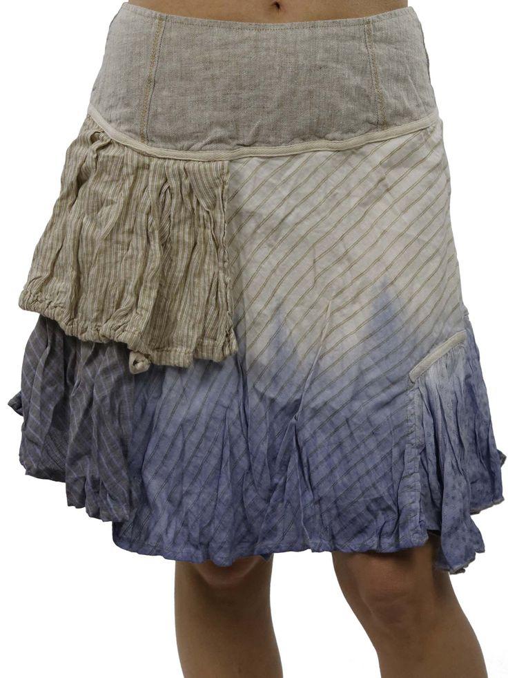 Blue Skirt Elisa Cavaletti