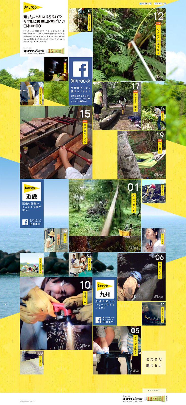 Shiri100 #web #design #grids