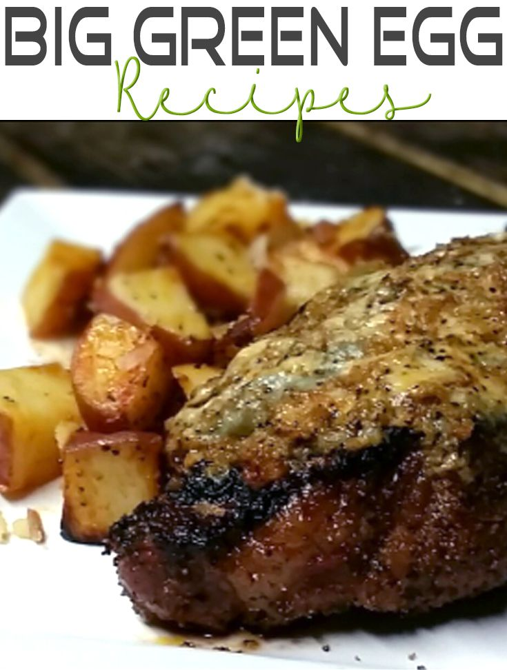 Big Green Egg Blue Cheese Crusted Steak Recipe