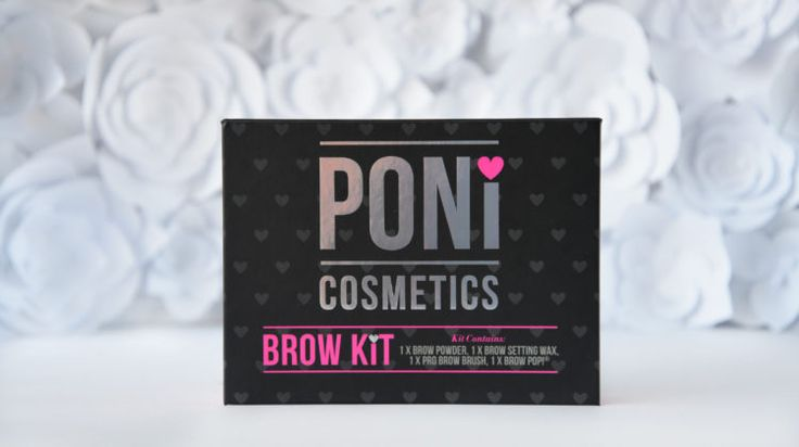 Review: Poni Cosmetics Brow Kit
