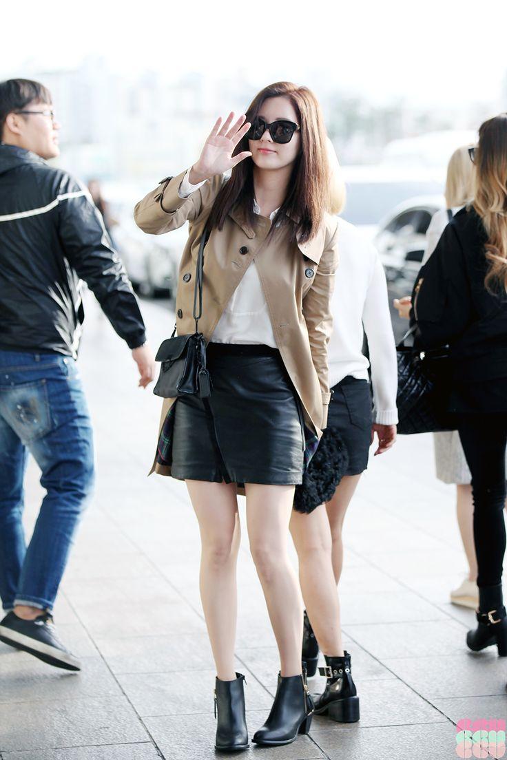 SNSD Seohyun Airport Fashion 151004 2015 | SNSD Airport ...