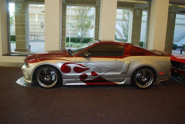 Custom 2010 Ford Mustang Rebellion
