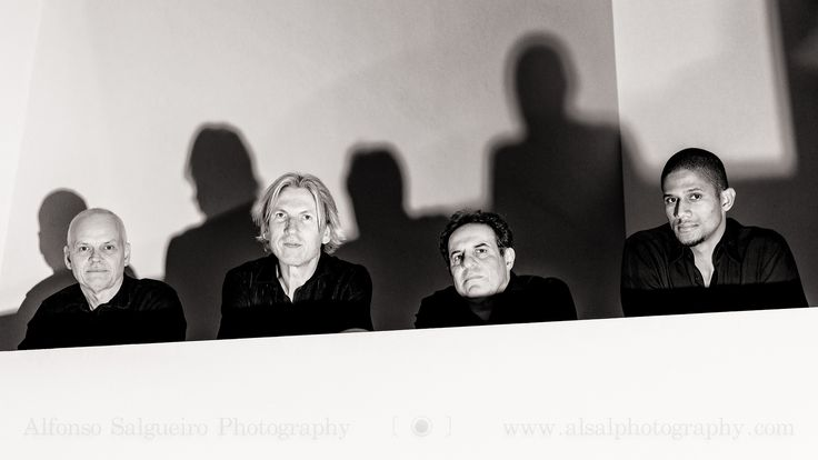 https://flic.kr/p/AJdo6q | Lars Danielsson Group | After their concert at the Philharmonie Luxembourg, which I also photographed, I was asked to get a picture of the newly formed band. Despite the difficult lighting conditions in the building late at night I think I managed to get something interesting. The concert was superb. If you don't know Lars Danielsson's music check this out.  Prints, workshops and more Website  ⎢Facebook ⎢Bēhance