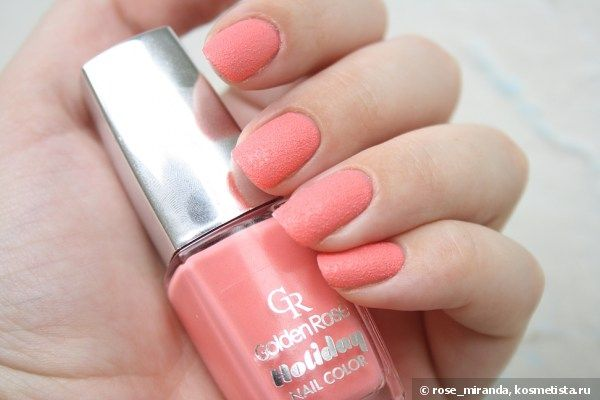 Golden Rose Holiday Nail Color #66