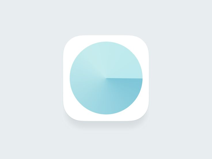"Kitchen timer app icon ""15 min"" by Andrew"