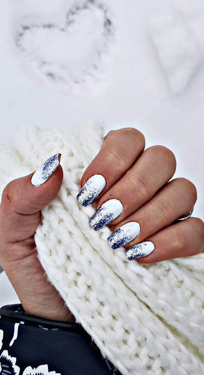 Nails Nails Winter Nails Winter Gel Nails Acrylic Coffin Nail Designs Nail Ideas Winter Nail Art Winter Nails Winter Nail Designs