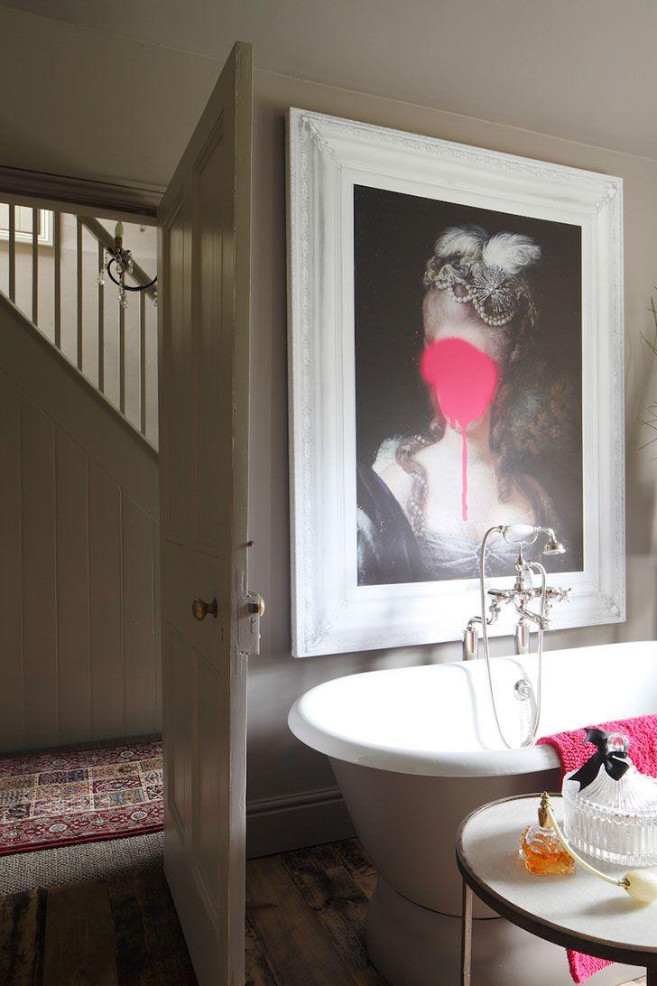 Старинный дом с великолепным декором в Англии | Пуфик - блог о дизайне интерьера