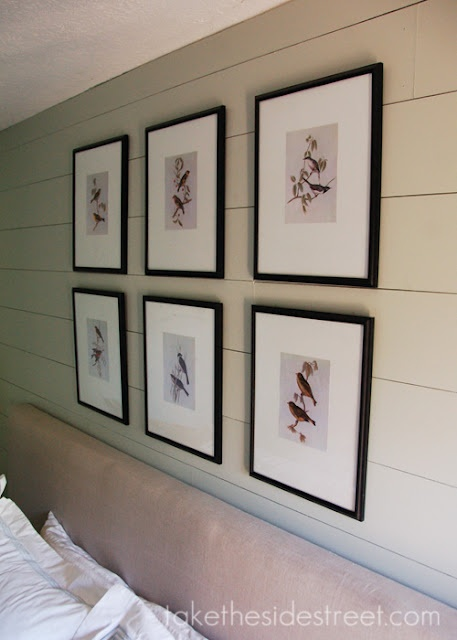 How to get the look of a planked wall for less! Take the Side Street: DIY Masonite Faux Paneled Wall
