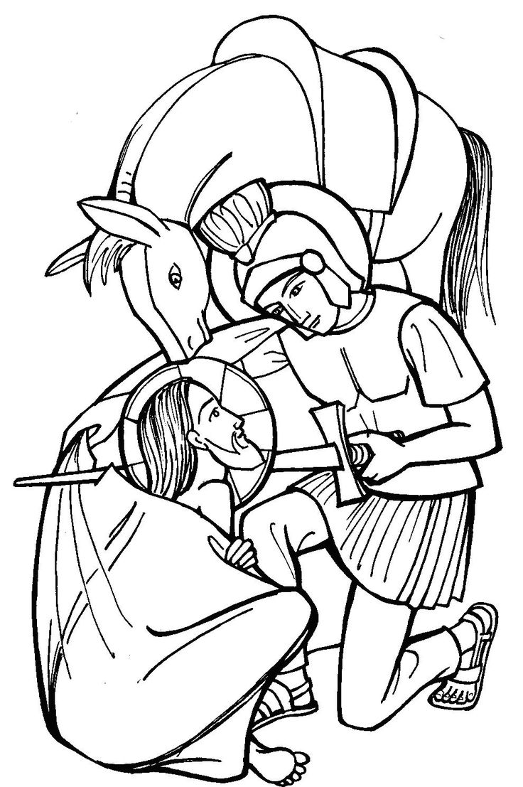 St. Martin Catholic Coloring Page: