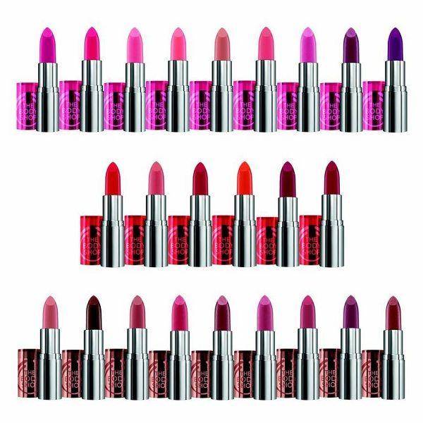 Ομορφιά - Colour Crush Lipsticks by The Body Shop - FaShionFReaks