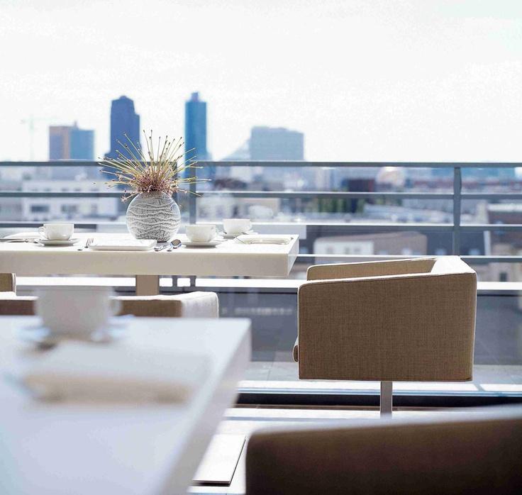 Terrace @ The Mandala Suites in #Berlin  http://themandalasuites.de/
