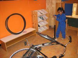 jufjanneke.nl - Op de fiets..