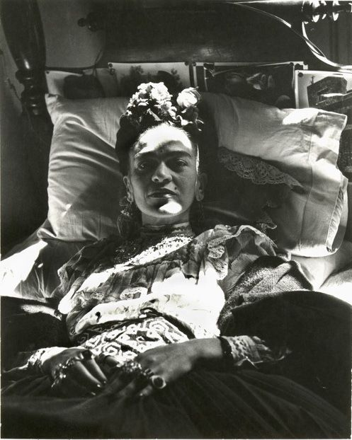 Frida Kahlo is the epitome of feminine strength and beauty.