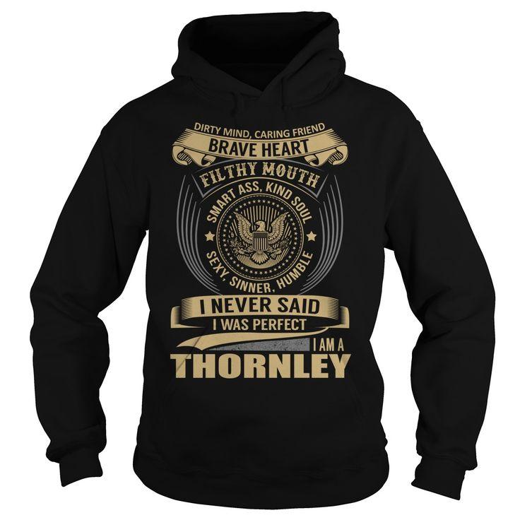 THORNLEY Last Name, Surname T-Shirt