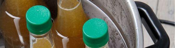How to preserve apple juice