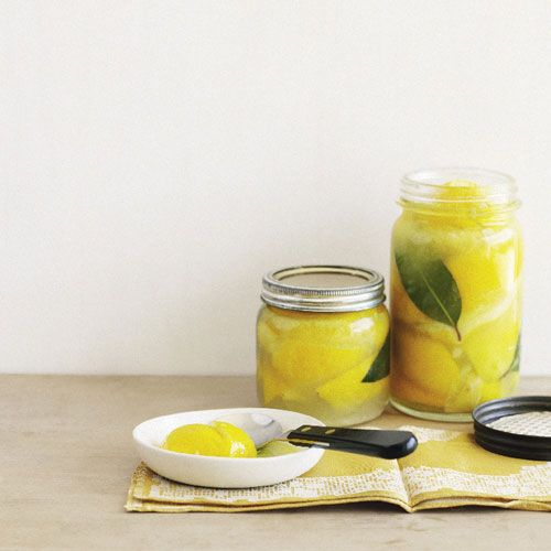 What to do with preserved lemon