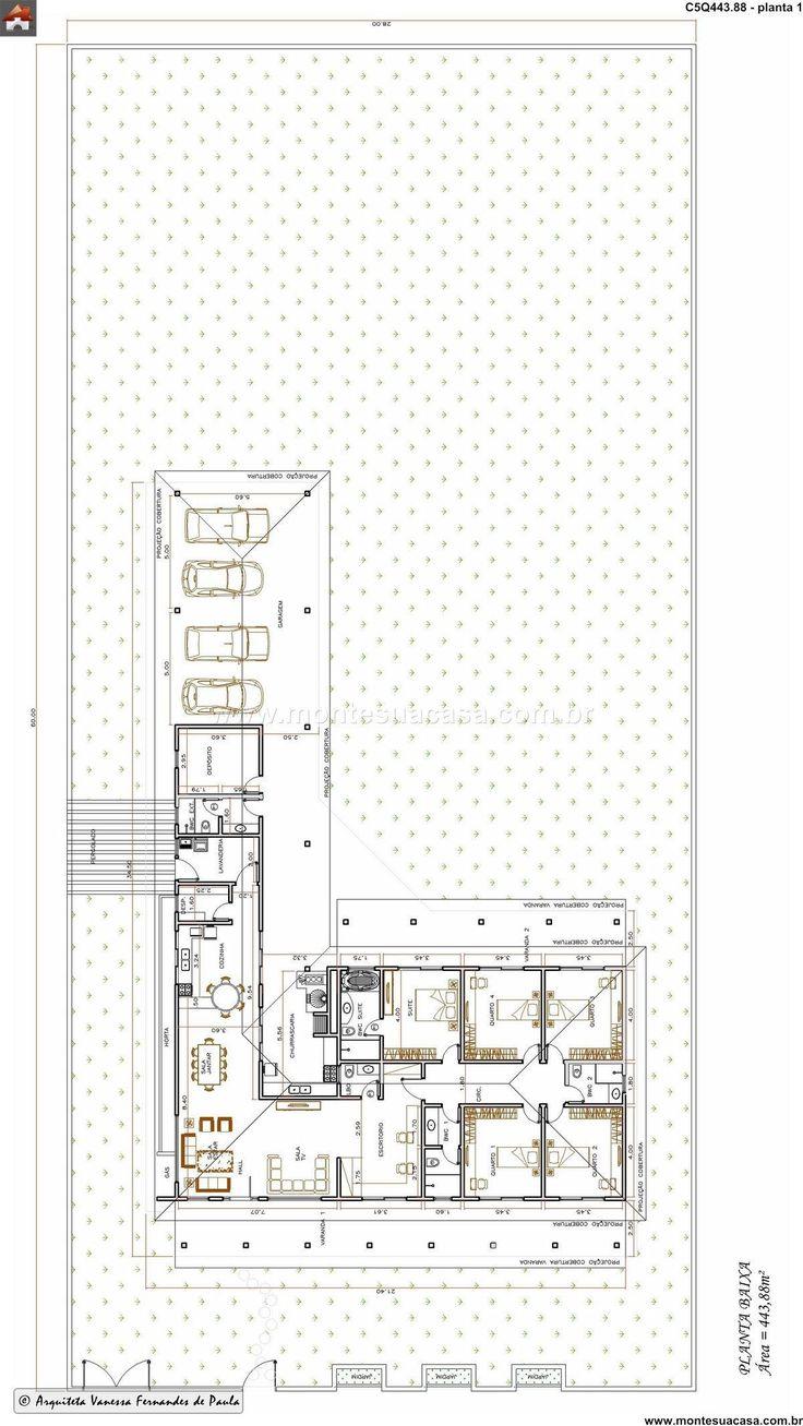 Casa 4 quartos 443 88m²