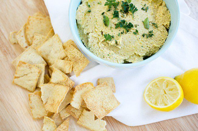Mediterranean Herb Hummus
