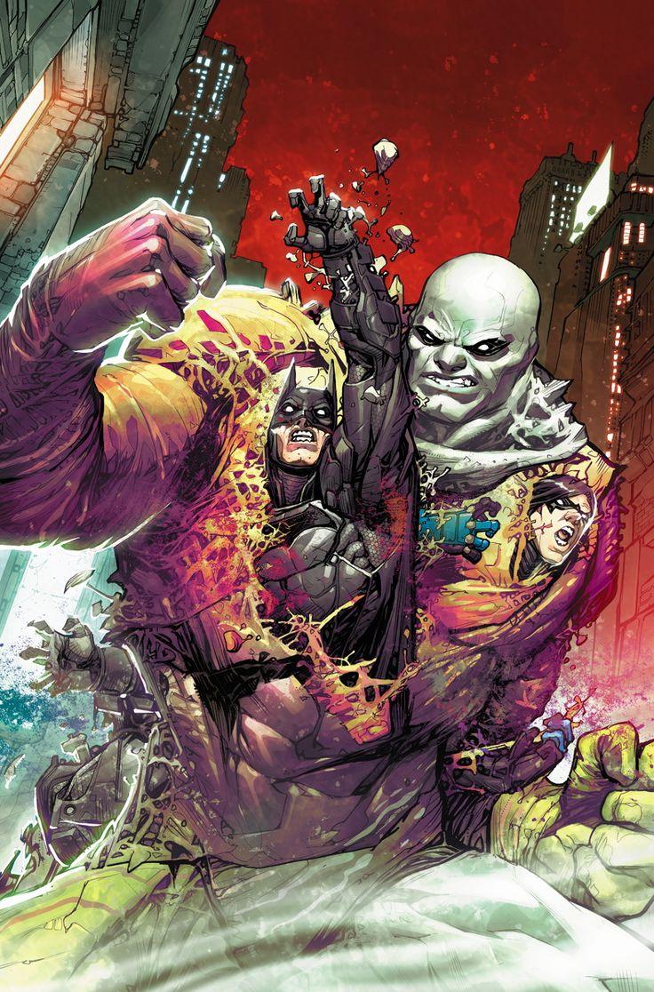 Batman: Arkham Knight #9 cover by Howard Porter *