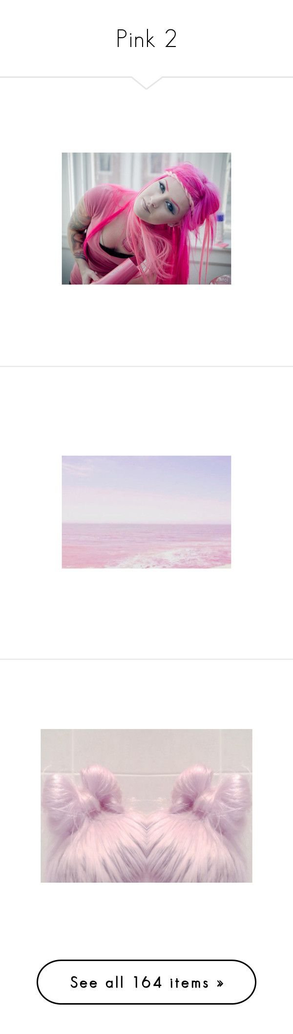 """""""Pink 2"""" by marciahofmant ❤ liked on Polyvore featuring pictures, backgrounds, photos, pink, purple, fillers, splash, hair, images and filler"""