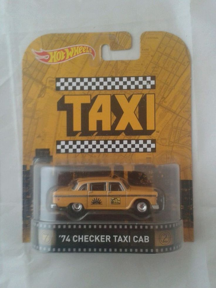 Hot Wheels car Retro Entertainment Taxi 74 checker cab 1:64 nostalgia pop 2015 in Toys & Games, Diecast & Vehicles, Racing Cars | eBay