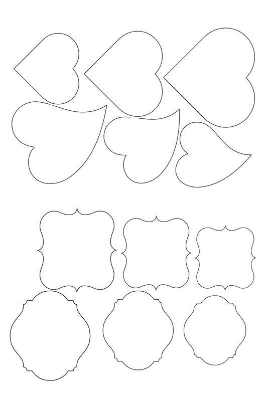 Тюльпанами для, фигурные трафареты для открыток