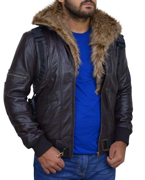 Spiderman Leather Jacket