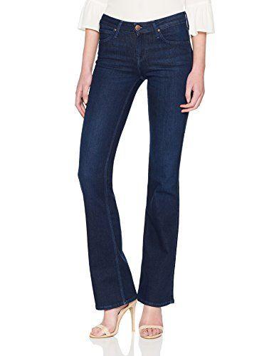 4ce57b6b463 Lee Women's Hoxie Bootcut Jeans (Uber Blue Rjzp) W28/L35 | Women's ...