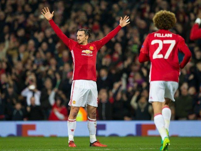 Team News: Zlatan Ibrahimovic starts for Manchester United