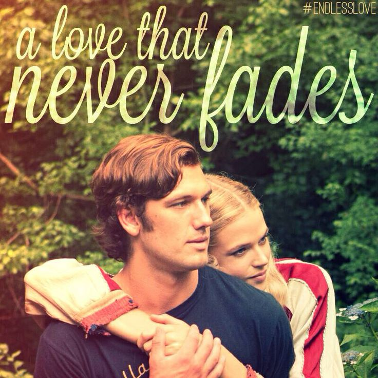 Cannot wait to see this movie. Endless Love