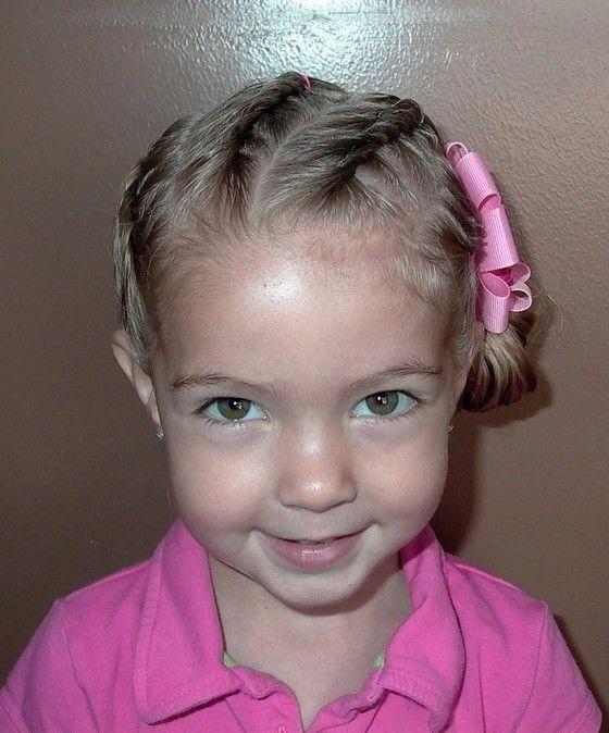 Pettinature per bambina capelli corti
